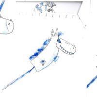 05 GUSTAVE ET LES BLUES TACHES dessin